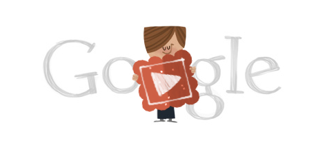 Valentine's Google Doodle