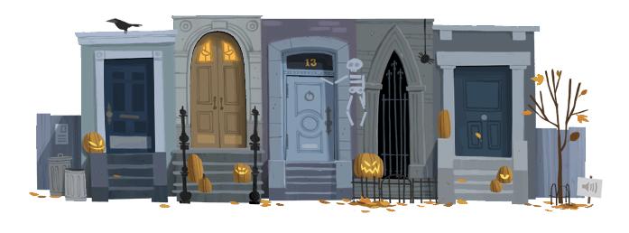 Hallowe'en Google Doodle