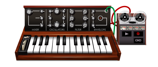 Google Doodle Robert Moog Synthesizer