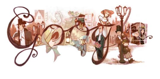 Dickens Google Doodle