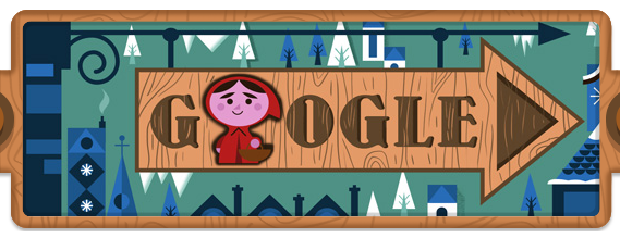 Google Doodle 200 Anniversary Grimm's Fairy Tales