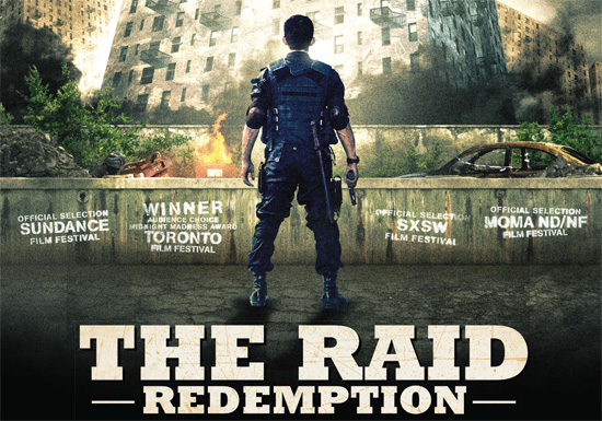 Gareth Evans and Iko Uwais The Raid