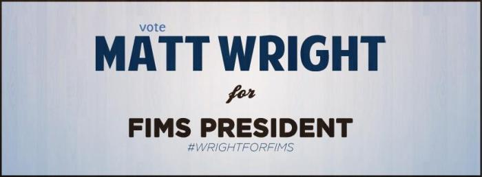 Matt Wright FIMSSC President