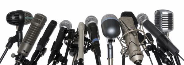 microphone bank