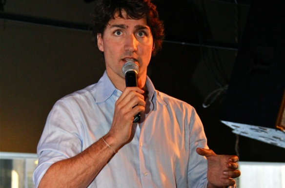 Justin Trudeau at Western