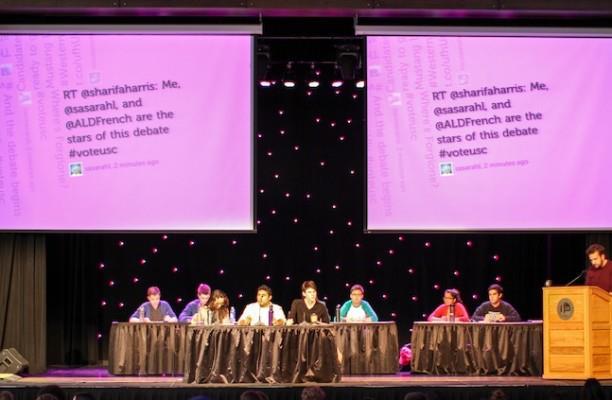 First USC debate 2013