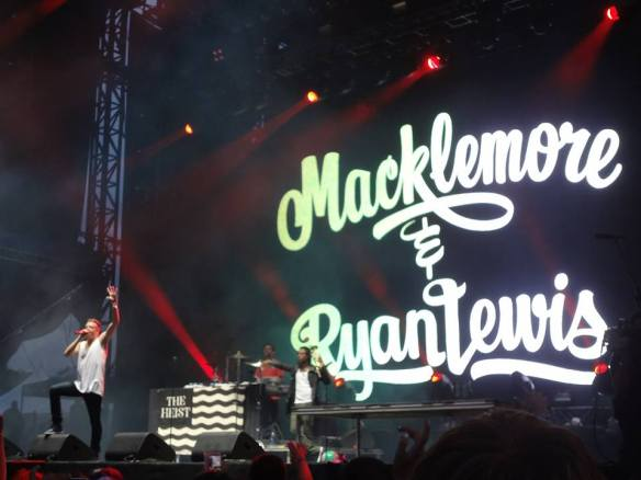 Macklemore at Osheaga 2013