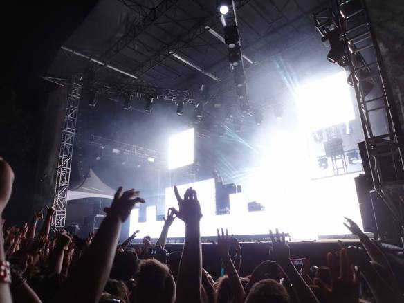 Osheaga Crowd 2013