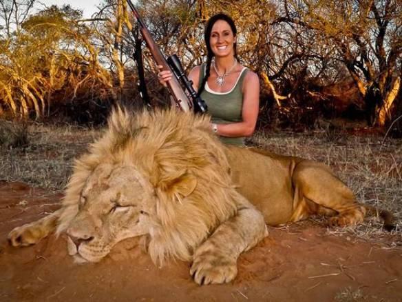 Melissa Bachman Dead Lion