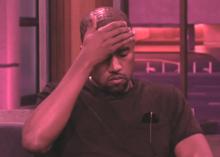 Kanye West Facepalming