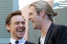 Chris Hemsworth and Tom Hiddleson