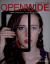 The cover for the January Issue of OPENWIDE. A woman with no makeup and braided hair holds up a tablet featuring a woman with makeup and straightened hair.