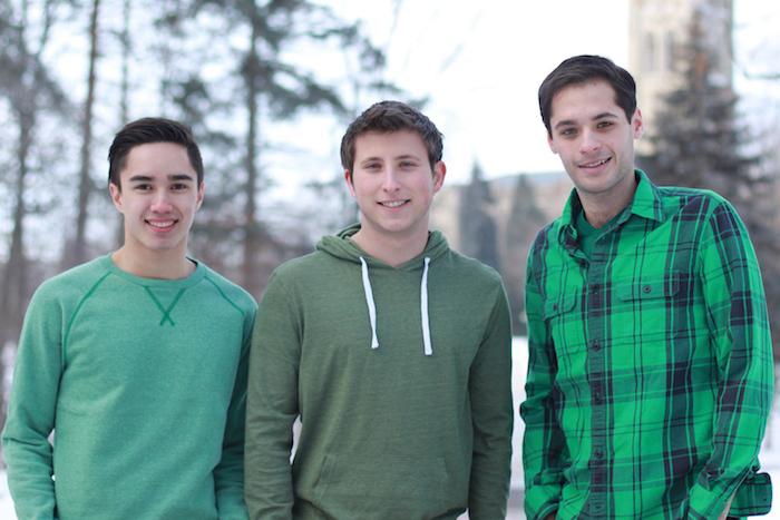 Alex Benac, Brian Belman, and Steven Wright of Team Belman